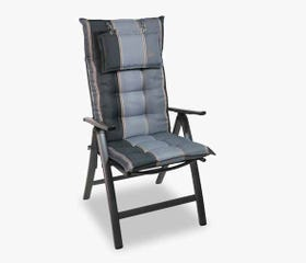 outdoor high-back chair