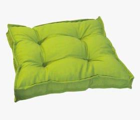 green outdoor seat cushion