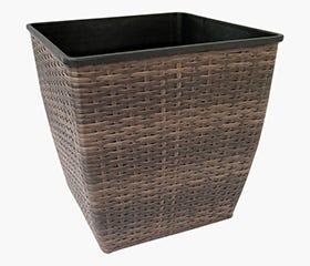 brown planter pot