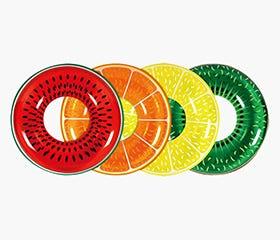 INFLATABLE Jumbo Fruit Swim Ring