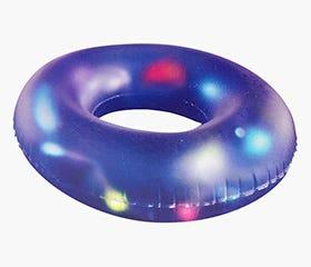 INFLATABLE LED Flashing Swim Ring