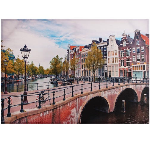 CITY Bridge Print (Amsterdam)