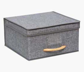 medium storage box with handle