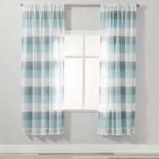 BERN Sheer Curtain - 1 Panel (Teal)