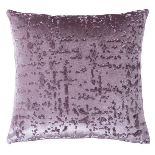 CELINA Embossed Throw Pillow 45x45cm (Purple)