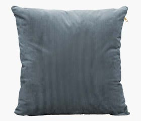 Grey throw pillow cover