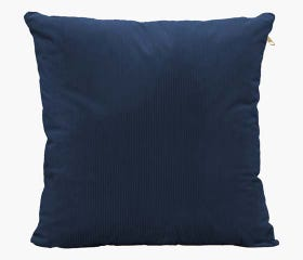 Navy blue throw pillow cover