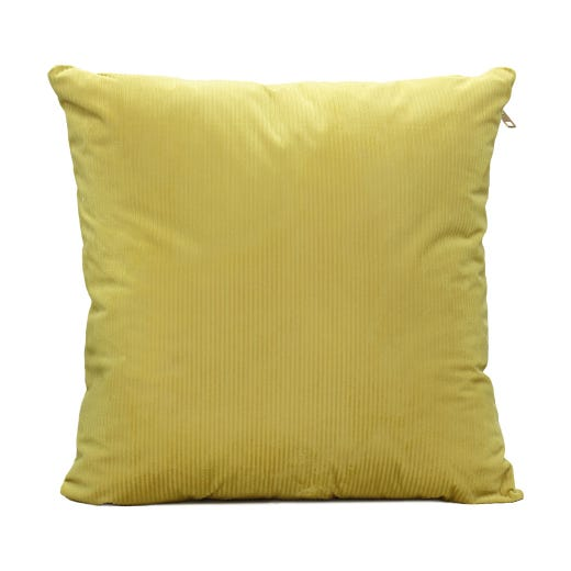 Yellow Throw Cushion Cover