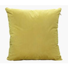 Yellow throw cushion cover