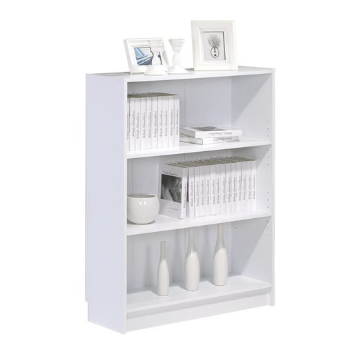 DANNY Bookcase Wide (White)