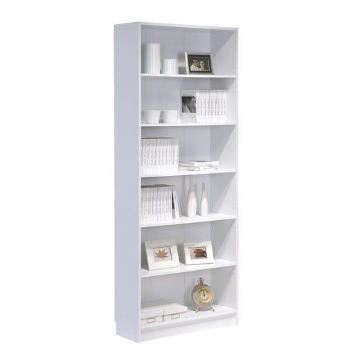 DANNY Bookcase Tall (White)