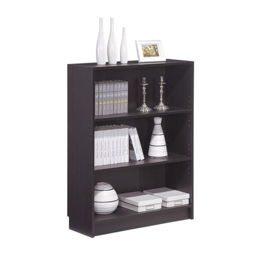 DANNY Bookcase Wide (Dark Brown)