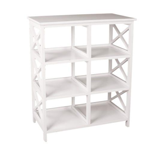 DINA 6 Shelf (White)