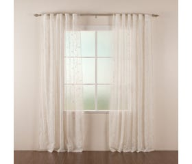 ERIN Embroidered Sheer Curtain - 1 Panel