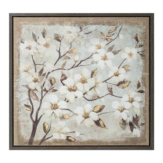 FRAME ART Print (Tree with White Flowers)
