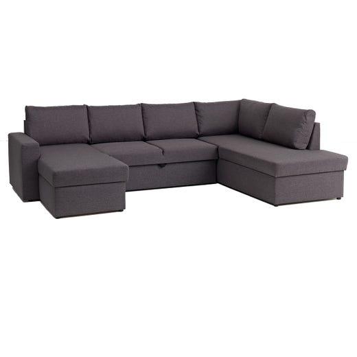 HAVDRUP Dual Chaise (Dark Grey)