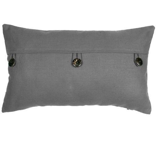 KINSLEY Solid Deco Cushion - Grey