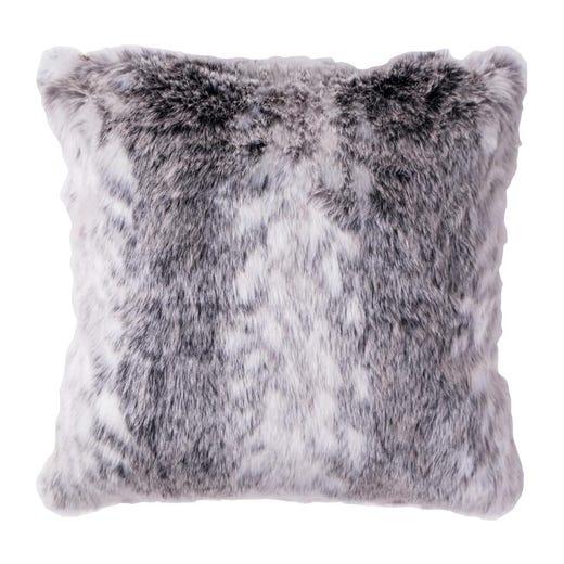 faux fur floor cushion