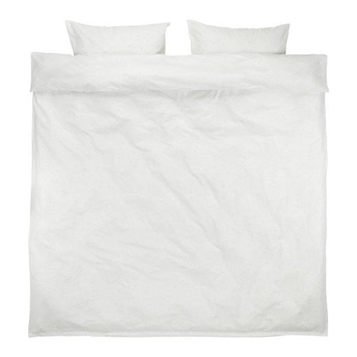 MERETE White Duvet Cover Set (King)