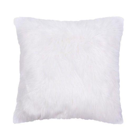 white floor cushion