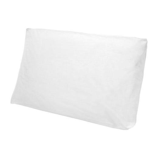 NADIA Pillowcase for Foam Pillow (White)