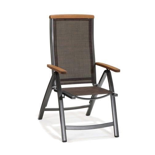 high-back position patio dining chair