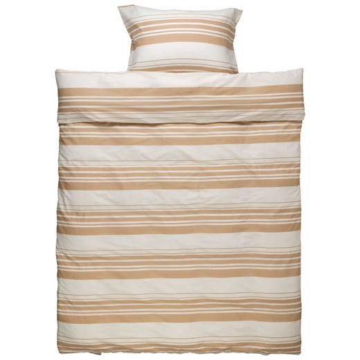 Soft cotton duvet cover with matching pillowcase