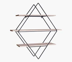 SIGMUND Triple Shelf