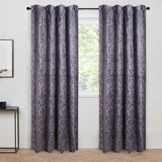SKYLAR Blackout Curtain (Charcoal)