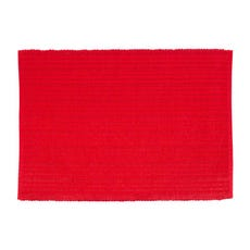 STRIPED GLITZ Red Placemat