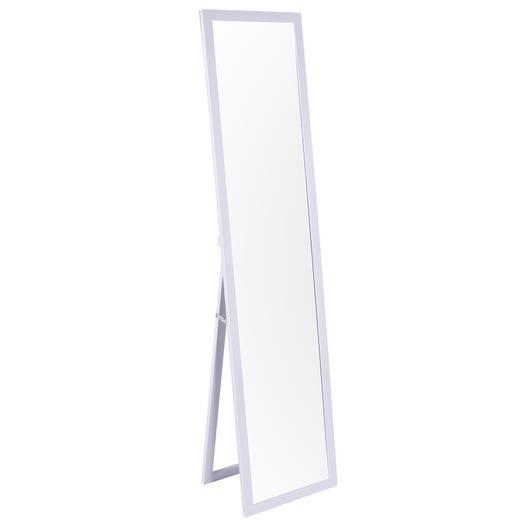 Miroir sur pied UNIVERSITY (Blanc)