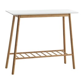 VANDSTED Console Table (White/Nat) Coffee Tables & Accent ...