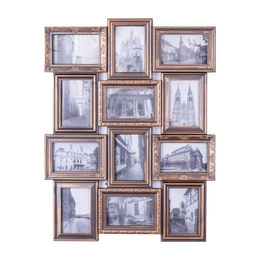 VIKTOR 12-Photo Collage Frame (Copper)