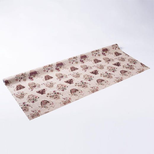 VIVEKA Teacup printed waxcloth