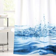 WATER DROP Shower Curtain