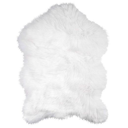 TAKS Faux Fur Rug 60x90 cm (White)