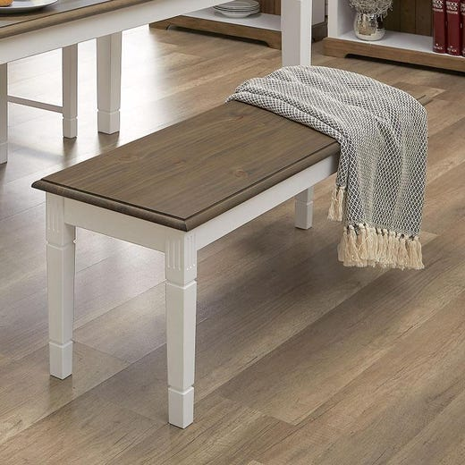 wien dining bench whitebrownchairs stools  benches