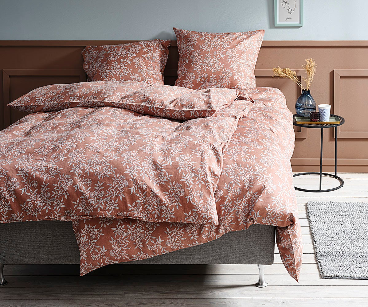 CAMILLA 100% Cotton Sateen Duvet Cover Set JYSK Canada