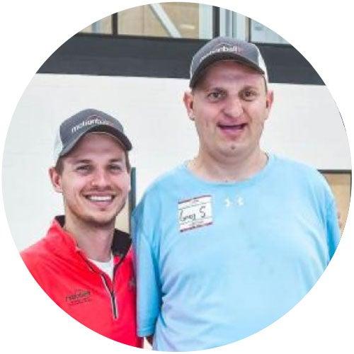 Chris Szymus, Special Olympics Athlete