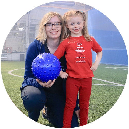 Alma Loken, Special Olympics Athlete