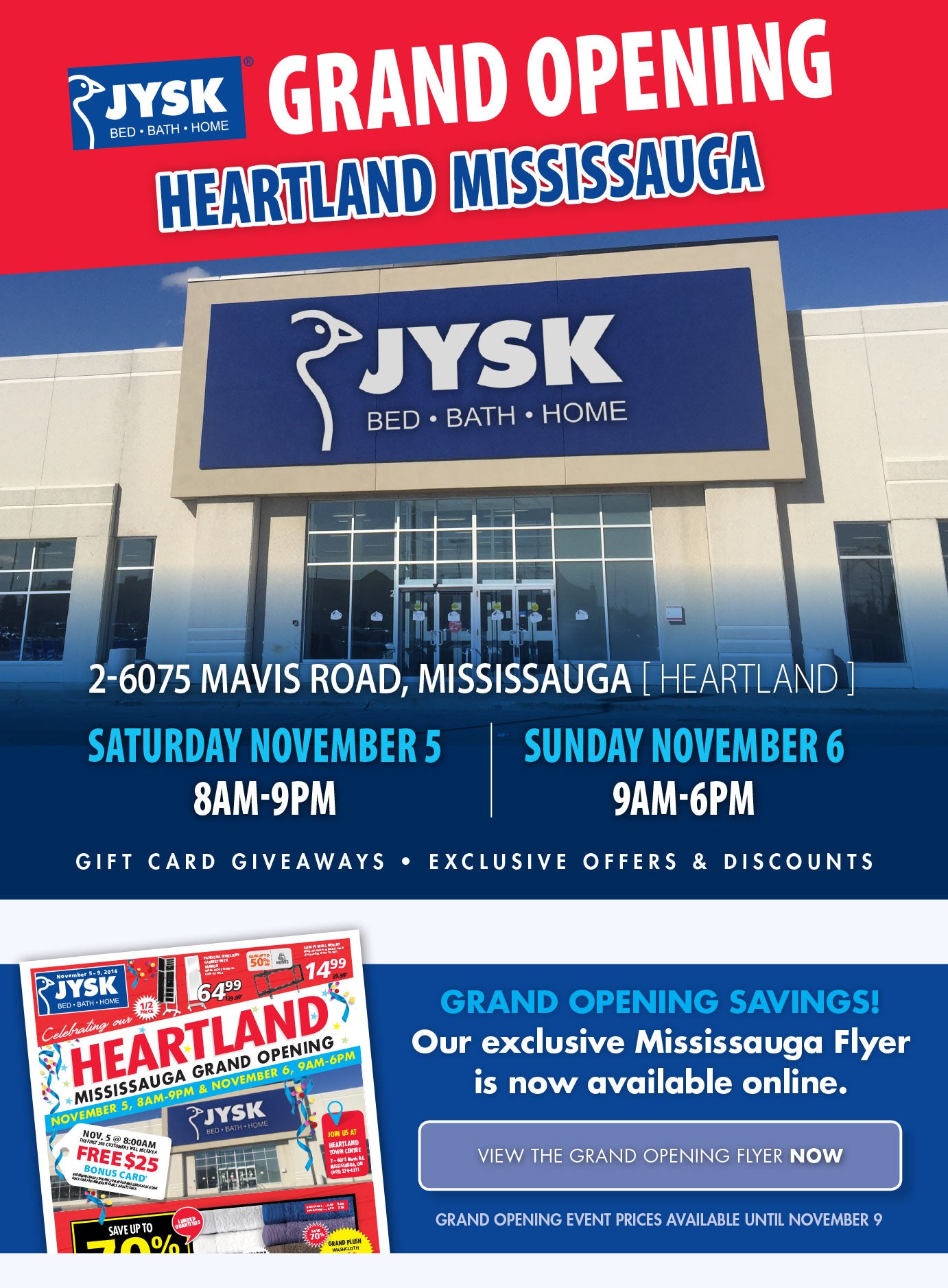 Heartland Mississauga Grand Opening Event!